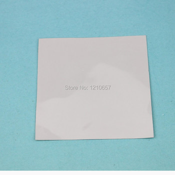 1pieces Mult Alb 100mm x 100mm x 0,5 mm Calculator GPU, CPU, VGA Conductoare Silicon Pad Termic