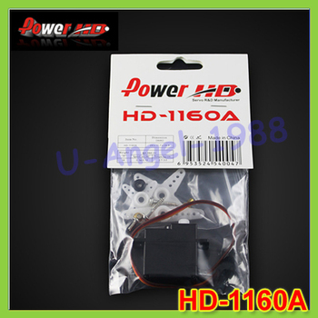 4set/lot Putere original HD HD-1160A Mini Dimensiune High Torque Servo 16G 2.7 KG+transport Gratuit
