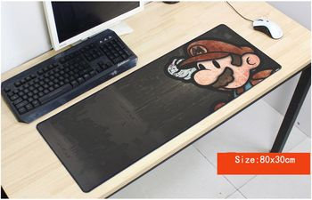 Mario mousepad batman gaming mouse pad 800x300x2mm gamer mouse-ul mat pad joc de calculator de birou padmouse tastatura mari covoare de joc