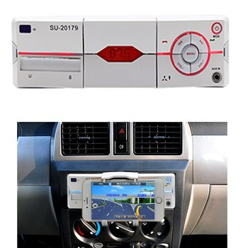 Radio auto cu MP3 Player Construit-in-suport USB, SD, AUX Bluetooth FM Radio Receptor 1din 12V auto Audio Player Nou Multifuncțional 20179