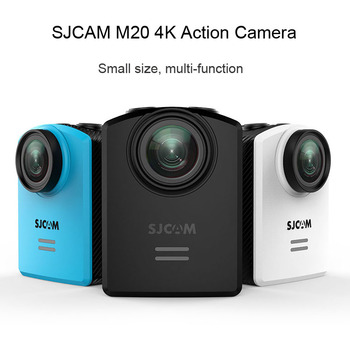 SJCAM M20 Acțiune Camera 4K Sport DV Wifi Gyro Mini camera Video 2160P HD, 16MP 30m Subacvatic, rezistent la apa Original SJ Sport Cam