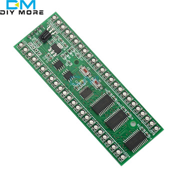 DC 5V-6V MCU RGB Afișare Model Dual Channel 24 LED VU Indicator de Nivel de Metru Pentru Amplificator